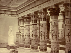 Interior Of The Egyptian Museum, With  The Philae Portico